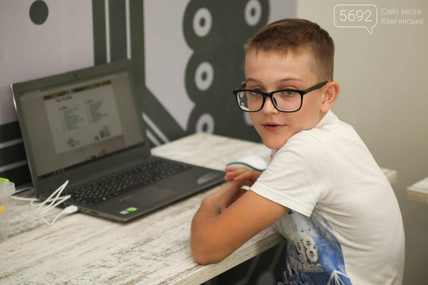 В Каменском открыли бесплатную Школу Робототехники, фото-11
