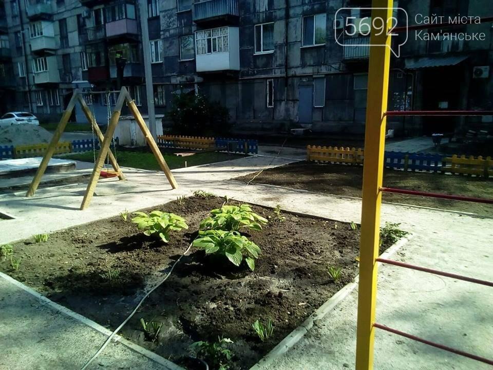 Каменчане своими силами построили детскую площадку, фото-1