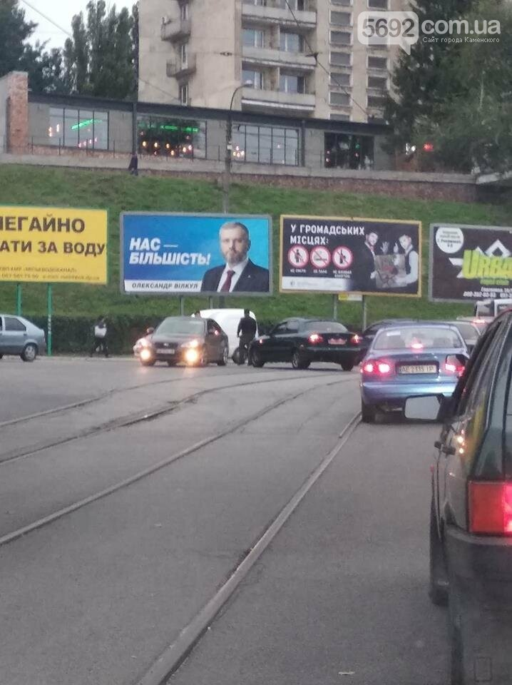 ДТП в Каменском: Daewoo врезался в Subaru, фото-3