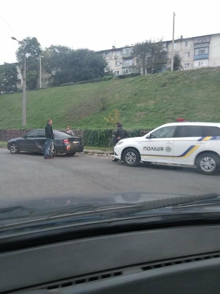 ДТП в Каменском: Daewoo врезался в Subaru, фото-2