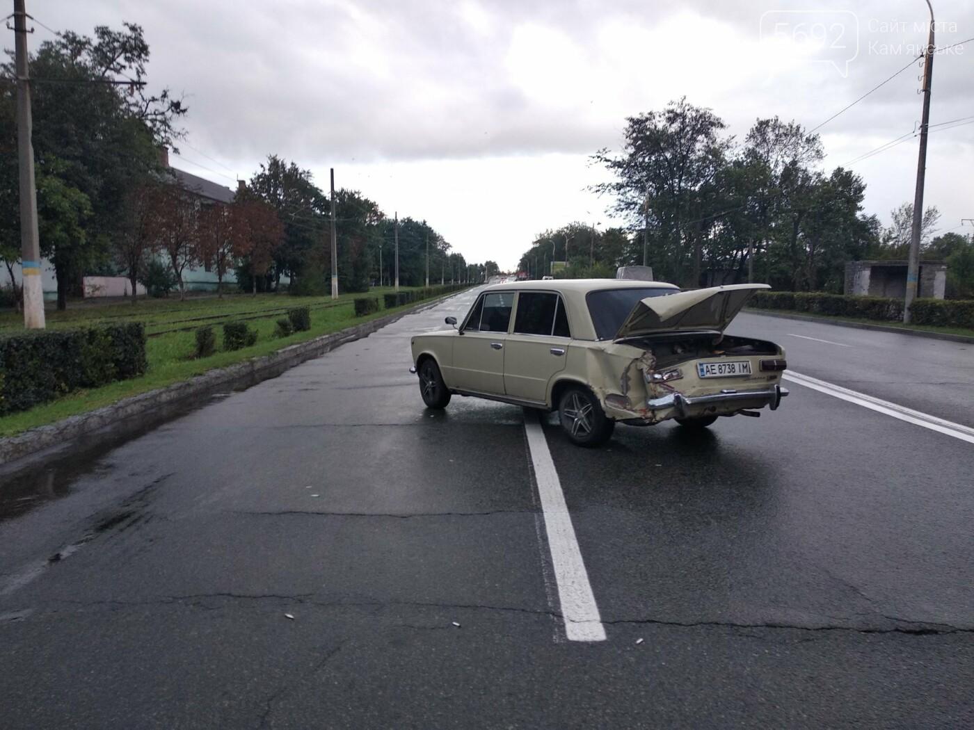 В Каменском на Юбилейном произошло тройное ДТП, фото-4