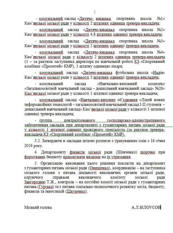 На 29-й сессии Каменского произошел конфликт относительно СК «Прометей», фото-2