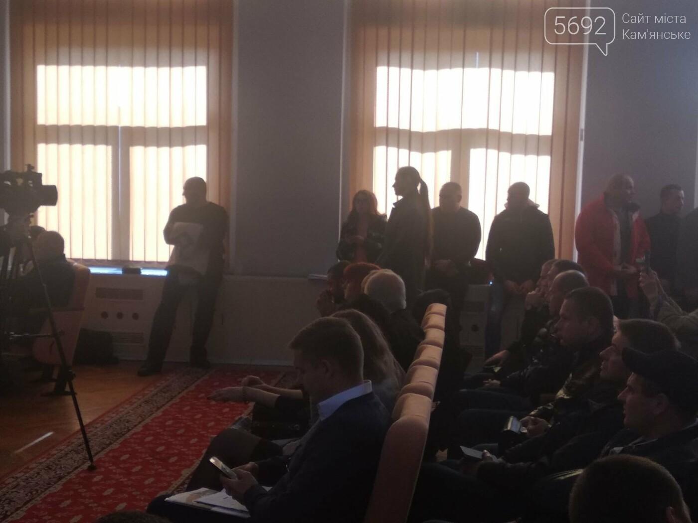 На 29-й сессии Каменского произошел конфликт относительно СК «Прометей», фото-3