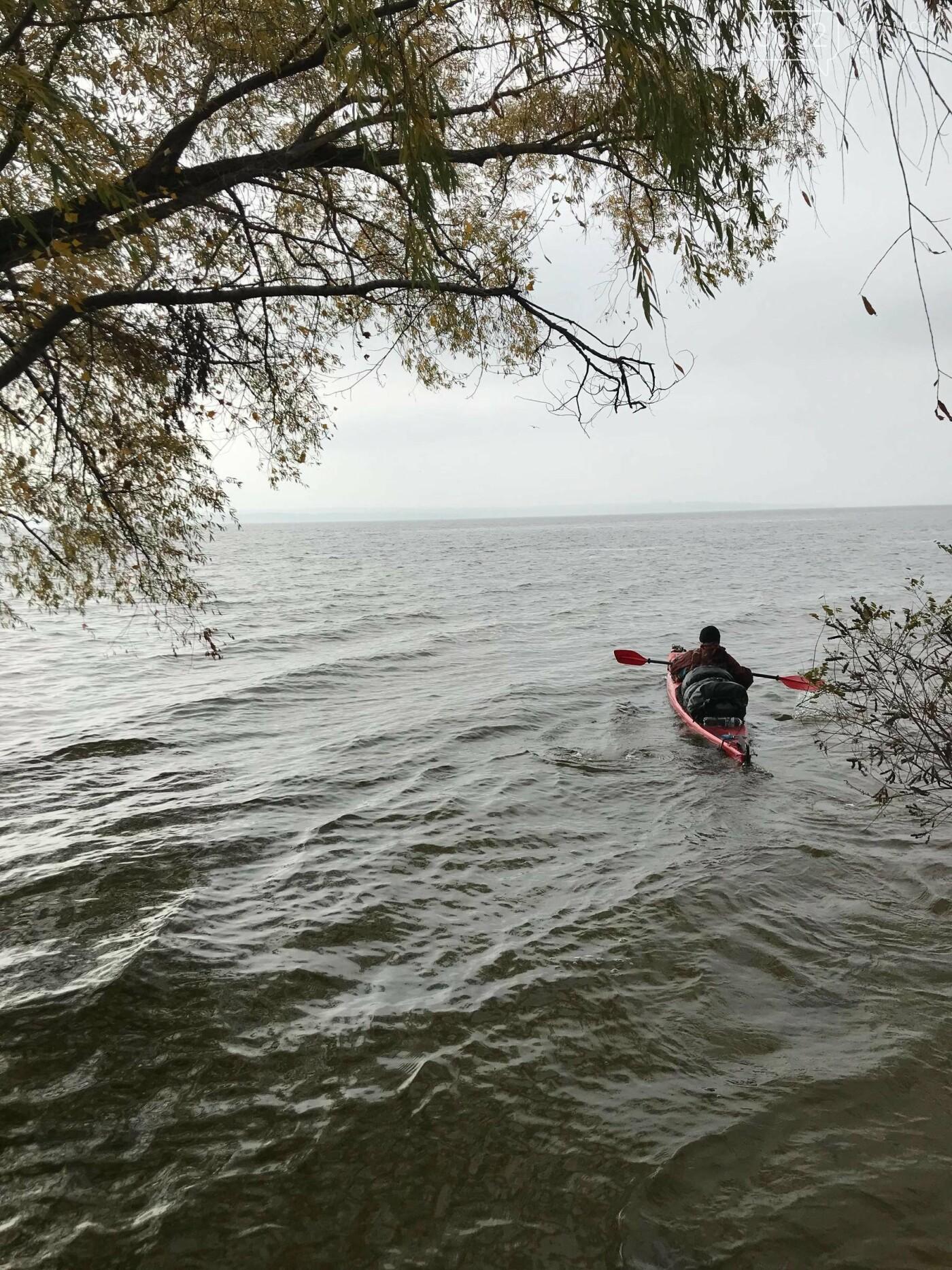 Известный путешественник Сергей Гордиенко приплыл в Каменское на каяке , фото-6