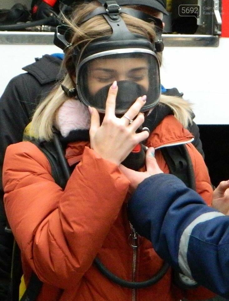 Каменские спасатели провели познавательно-профилактическое мероприятие лицеистов, фото-2