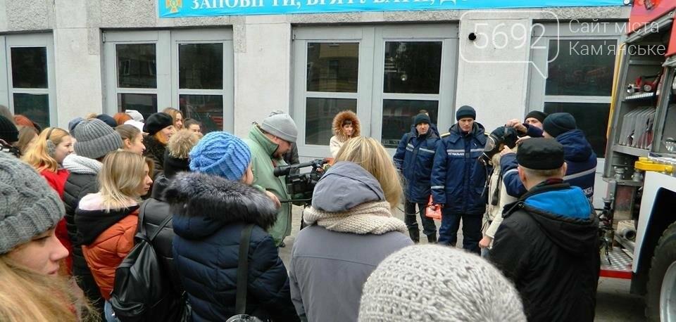 Каменские спасатели провели познавательно-профилактическое мероприятие лицеистов, фото-3
