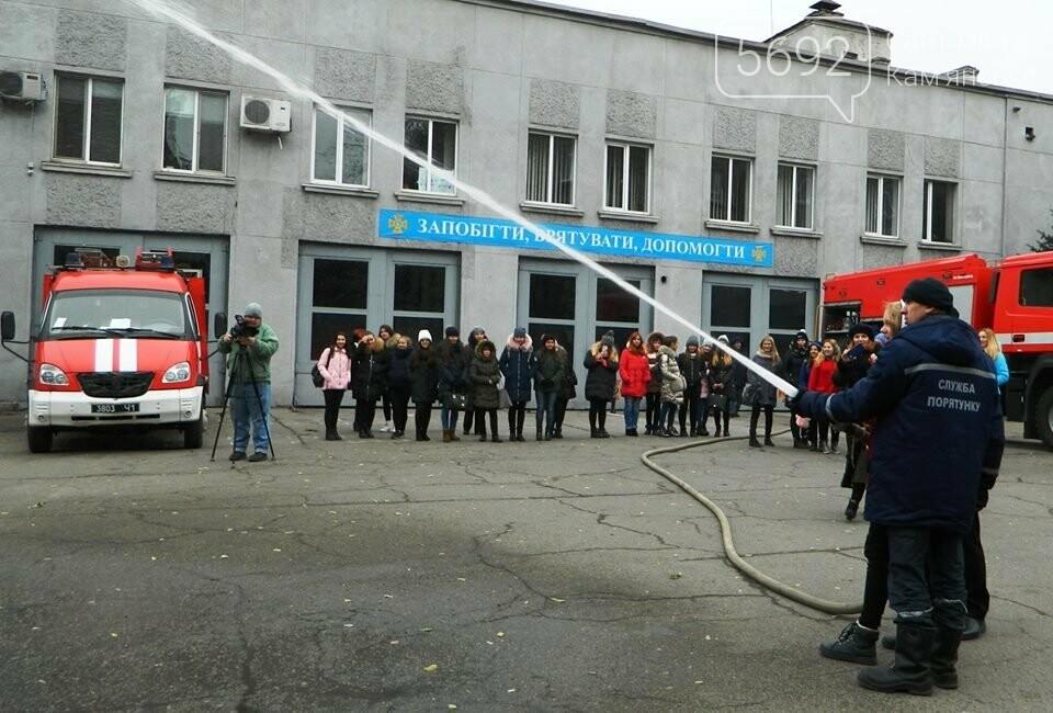 Каменские спасатели провели познавательно-профилактическое мероприятие лицеистов, фото-6
