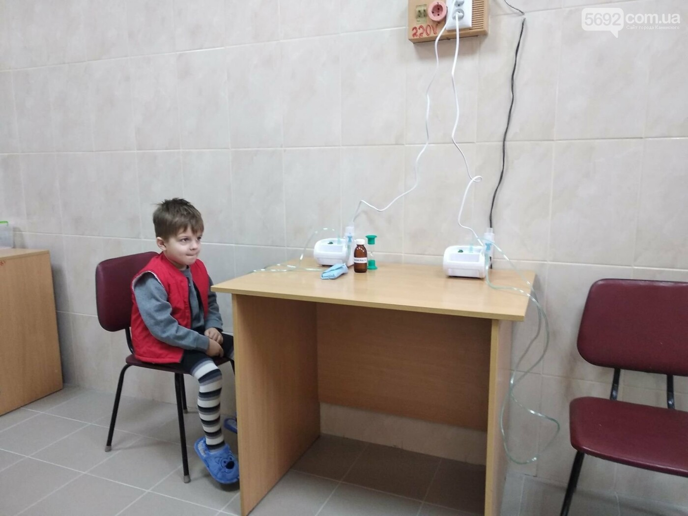 В Каменской детской больнице капитально обновили два кабинета, фото-2