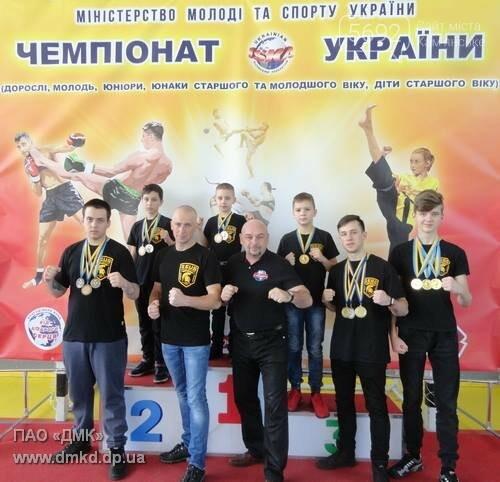 Каменские кикбоксеры завоевали 6 медалей, фото-1