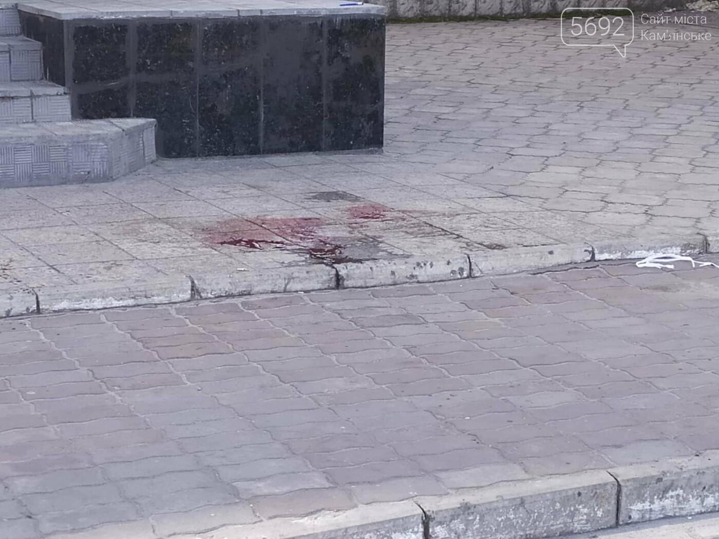 В  центре Каменского подстрелили активиста Евгения Найду, фото-4