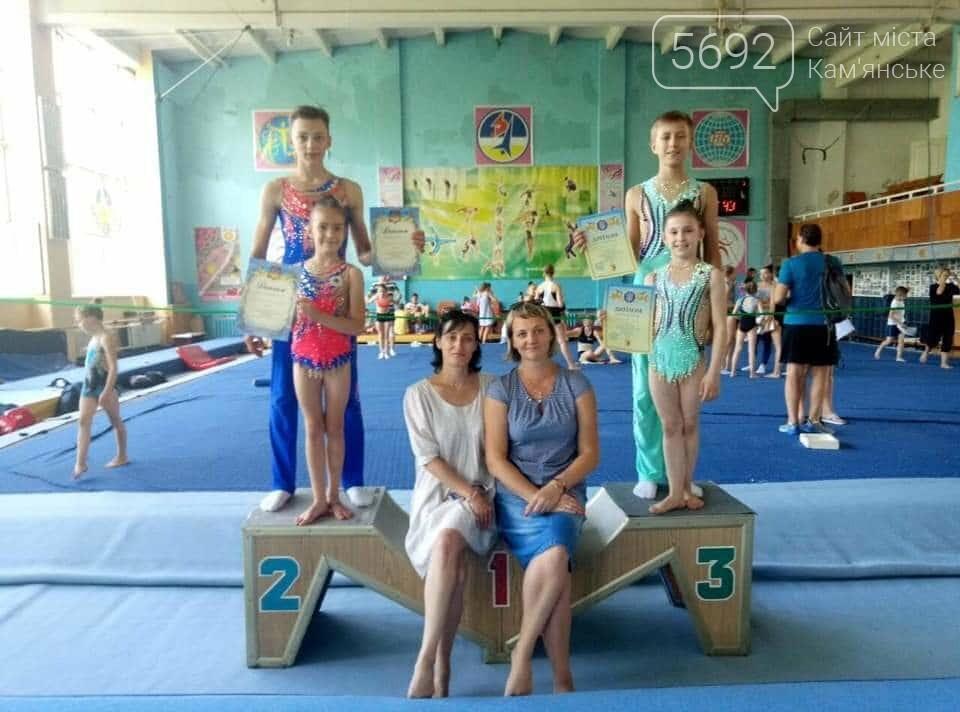 Акробаты из Каменского стали призерами чемпионата Украины , фото-1