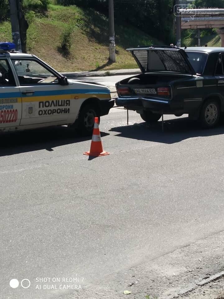В Каменском произошло ДТП с участием автомобиля Полиции охраны, фото-1