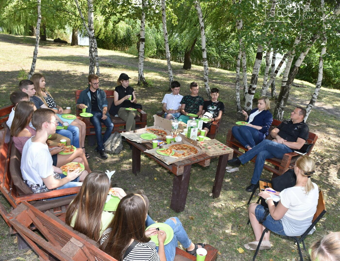 Анна Личман: Молодежь Каменского готова вести дискуссию по важным темам на высоком уровне, фото-4