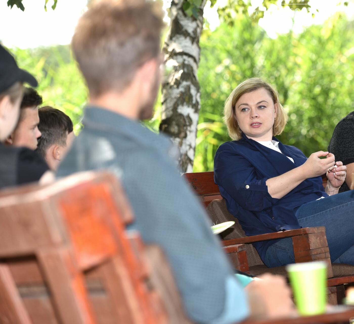 Анна Личман: Молодежь Каменского готова вести дискуссию по важным темам на высоком уровне, фото-2