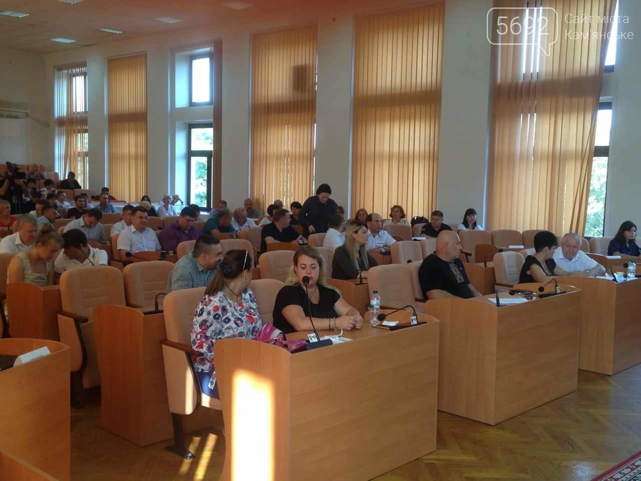 В Каменском стартовало заседание 35-й сессии горсовета, фото-3