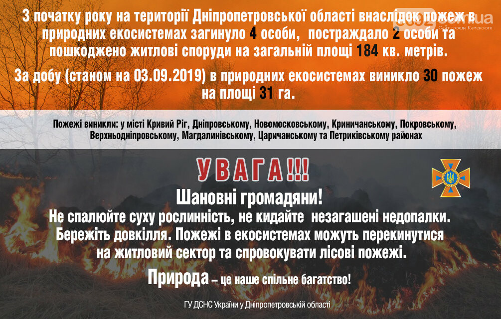 Горит экосистема: за сутки на Днепропетровщине произошло 30 пожаров, фото-2