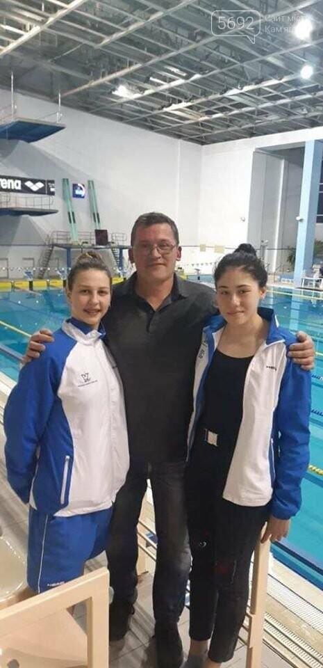 Каменчанки стали чемпионками Украины по плаванию, фото-1