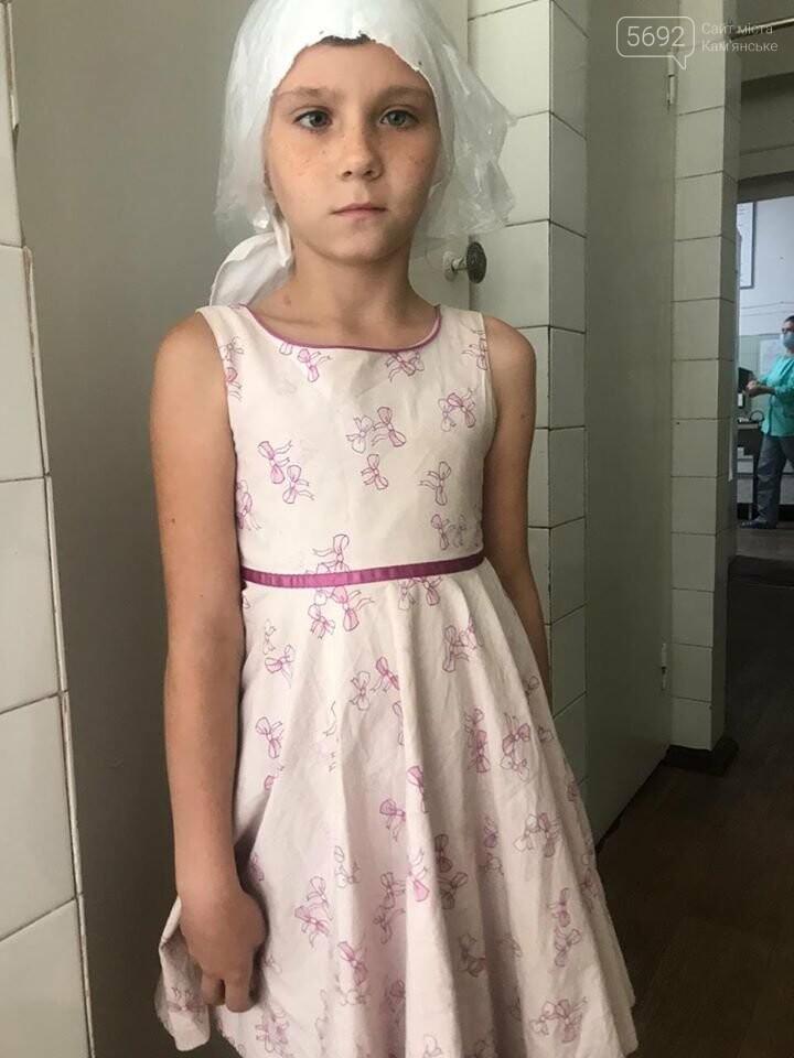 В Каменскую больницу привели 8-летнюю девочку: она не знает, где живет, фото-1
