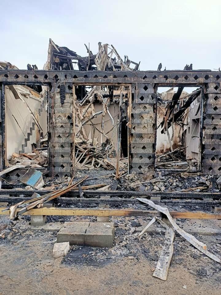 В Елизаветовке горел коттеджный городок: история пострадавшей семьи Иллиодоровых, фото-15
