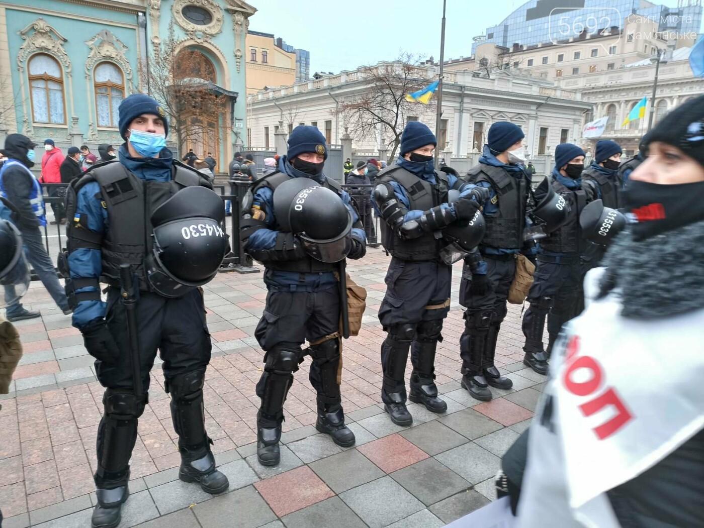 Предприниматели Каменского борются за свои права в Киеве, фото-1