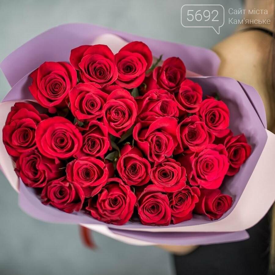 Где купить цветы в Каменском на 8 марта, фото-1