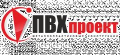 Логотип - ПВХпроект, металлопластиковые окна, двери, балконы, жалюзи, раздвижные системы, роллеты, ворота