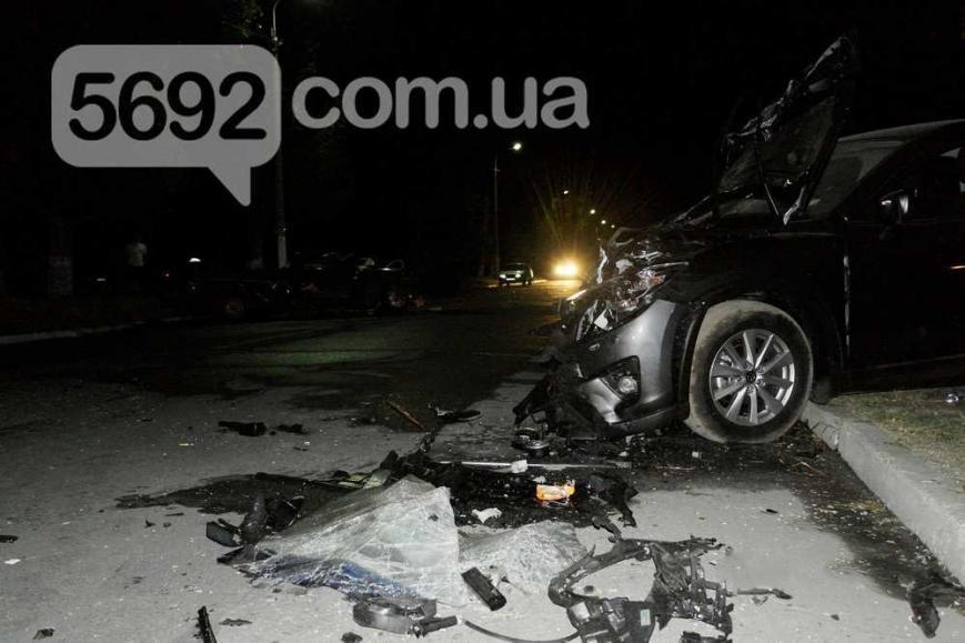 На левобережье Каменского произошло ДТП с пострадавшими, фото-1