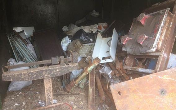 В Каменском изъяли больше тонны нелегального металлолома, фото-1