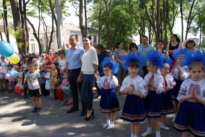В сквере Каменского устроили детский праздник, фото-2