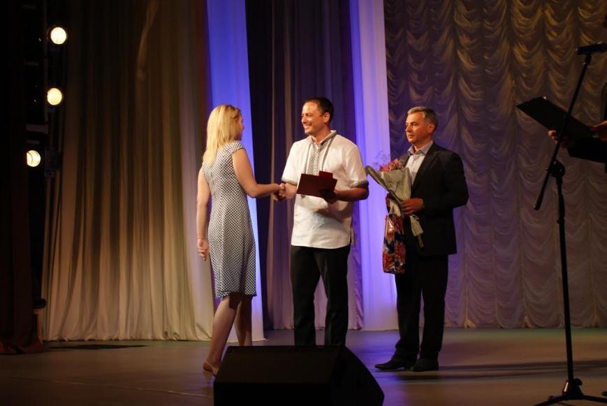 В театре Каменского поздравляли медработников, фото-2