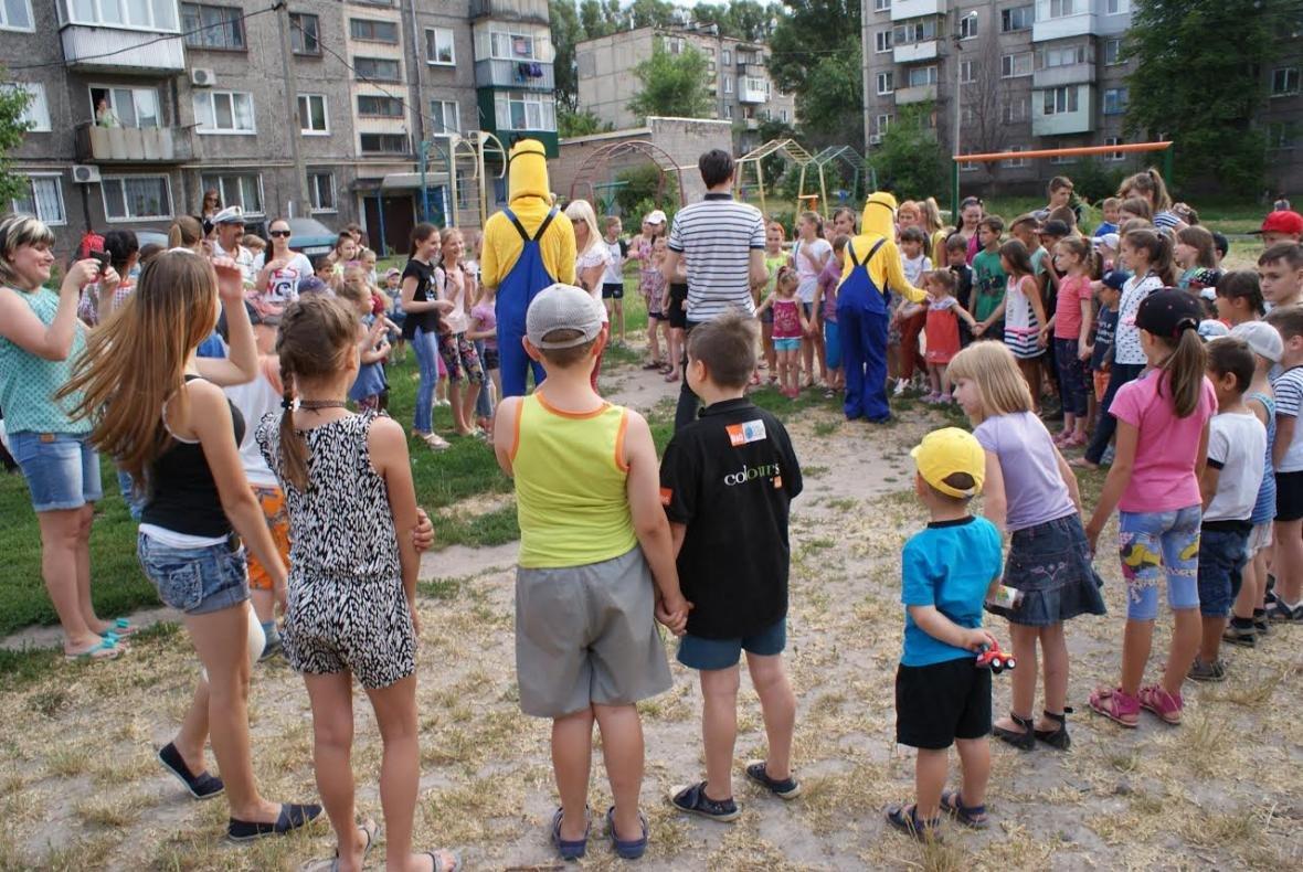 В Каменском открыли новую детскую площадку, фото-1