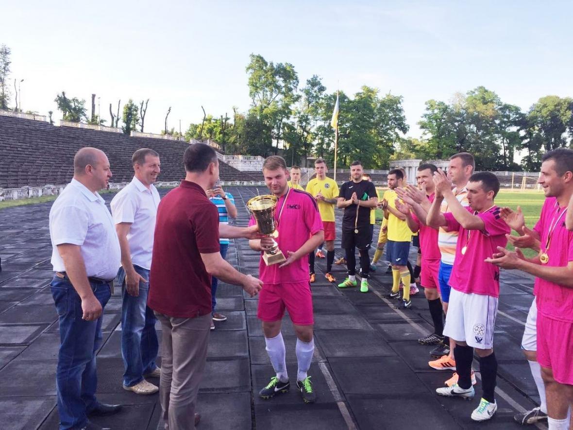ФК «Металлург» одержал победу в финале Кубка городского головы Каменского по футболу, фото-1