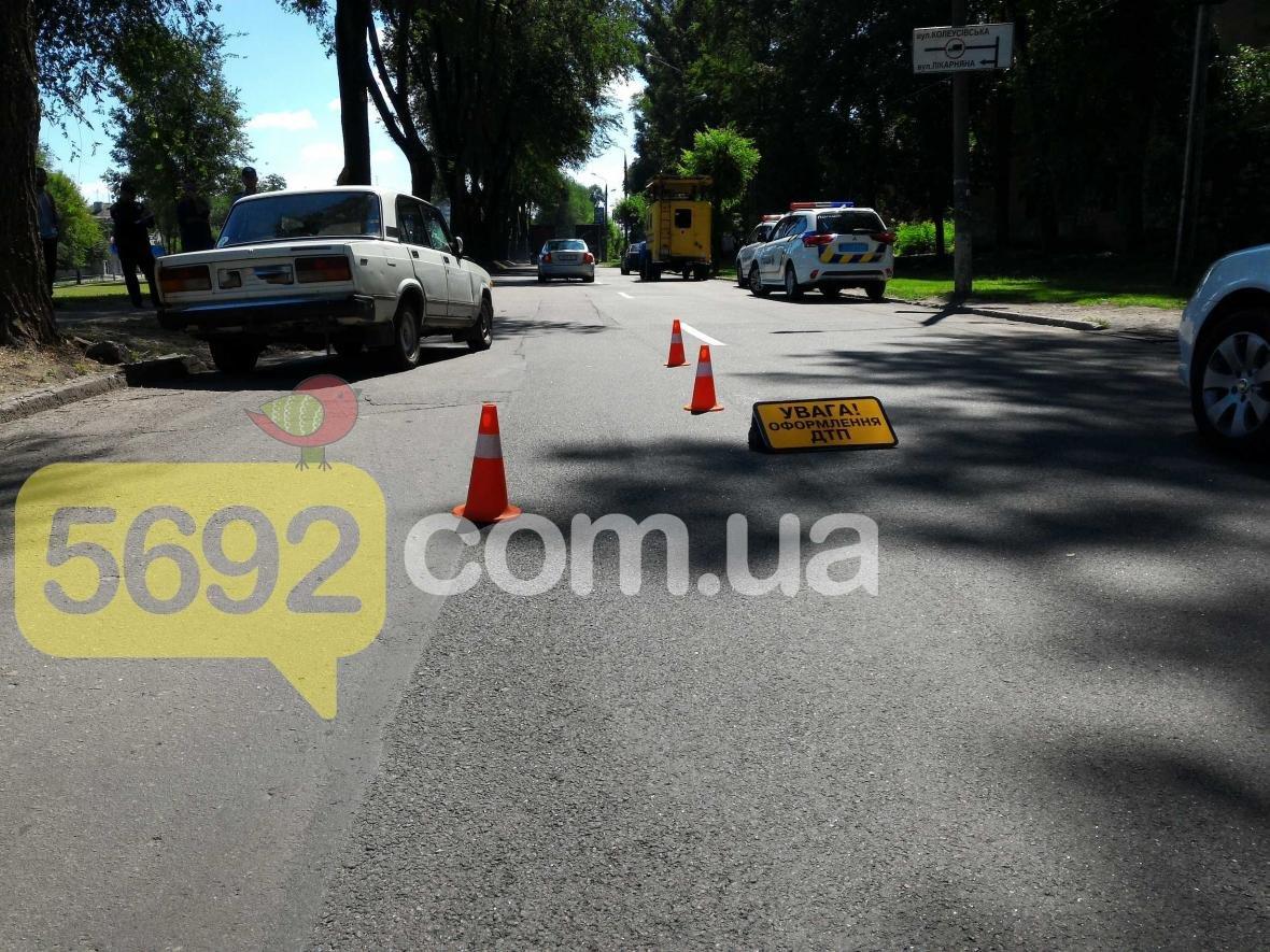 В Каменском возле перекрестка сбили ребенка, фото-1