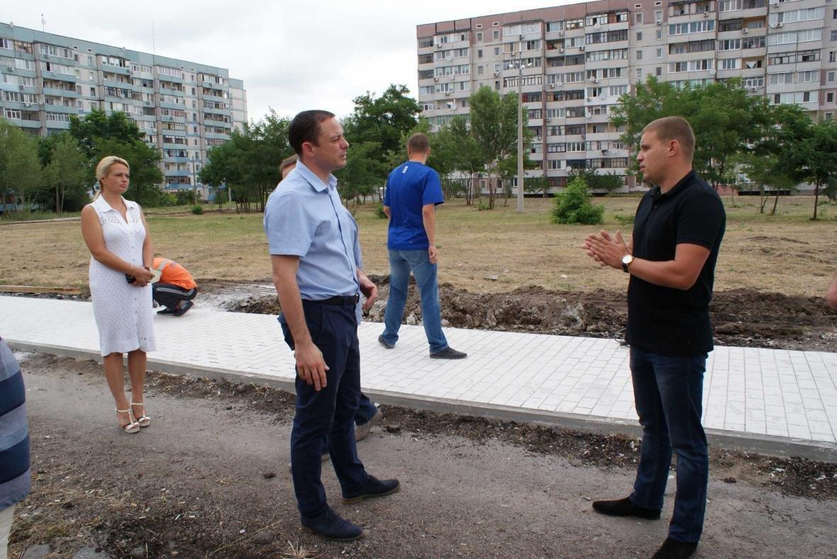 """На левобережье Каменского делают """"парк счастья"""", фото-1"""