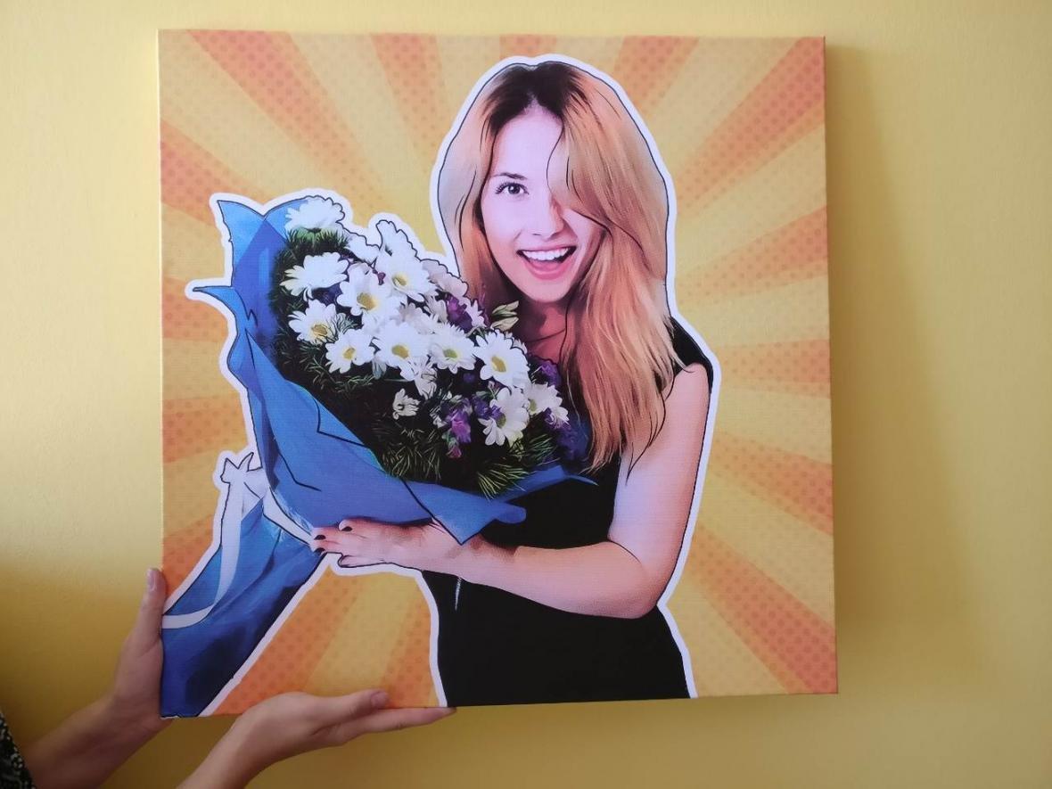 Поп-арт портрет - незабываемый подарок на Новый Год (ФОТО), фото-1