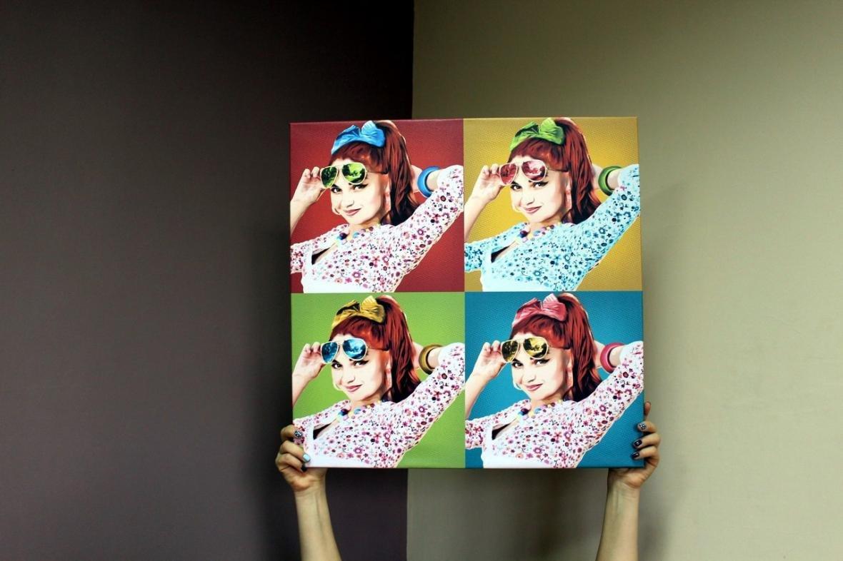 Поп-арт портрет - незабываемый подарок на Новый Год (ФОТО), фото-2