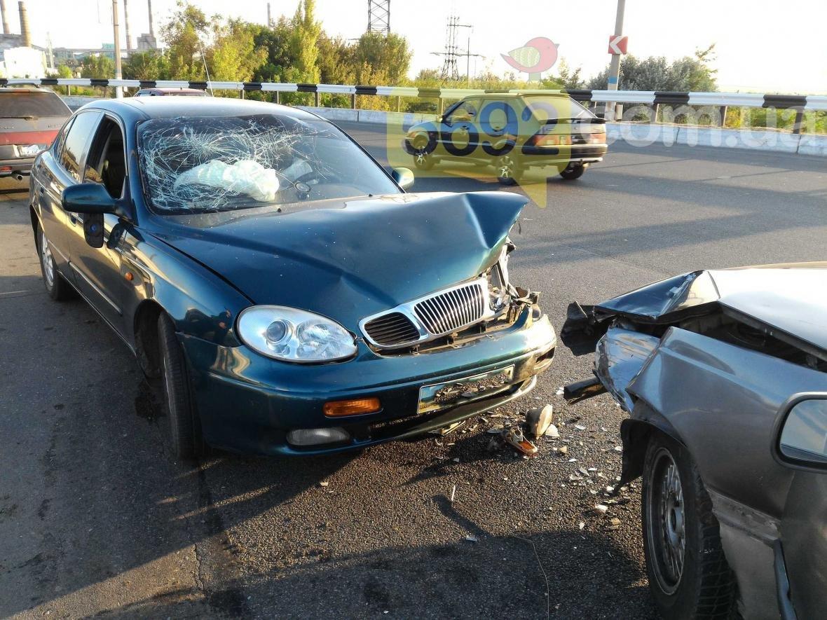 В Каменском произошло ДТП с пострадавшими, фото-1