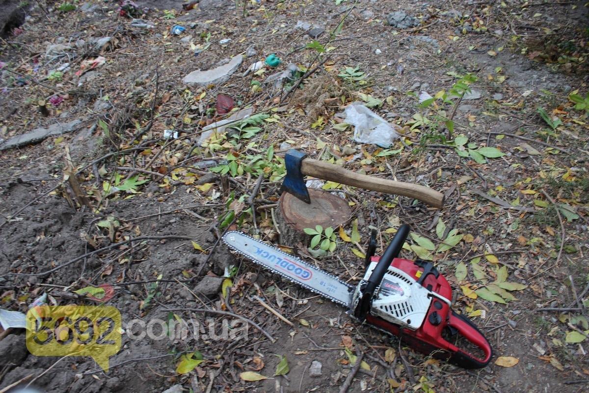 Каменские общественники вызвали полицию на Ждановское кладбище, фото-6
