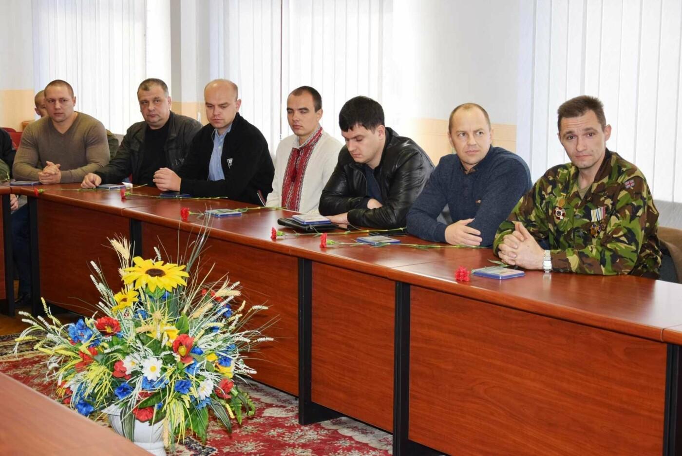 В Каменском отметили День защитника Украины, фото-4