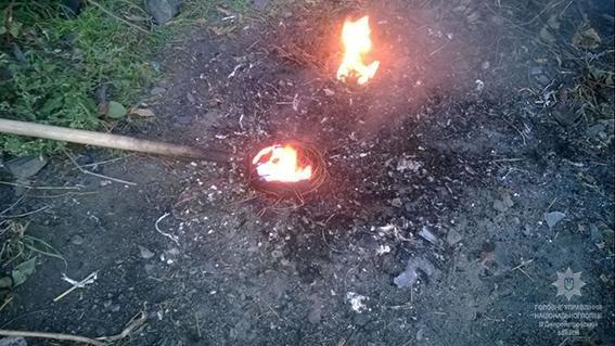 В Каменском выявили ночного охотника за кабелем, фото-1