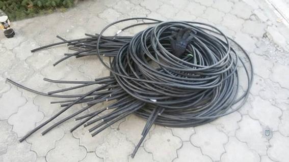 В Каменском выявили ночного охотника за кабелем, фото-2