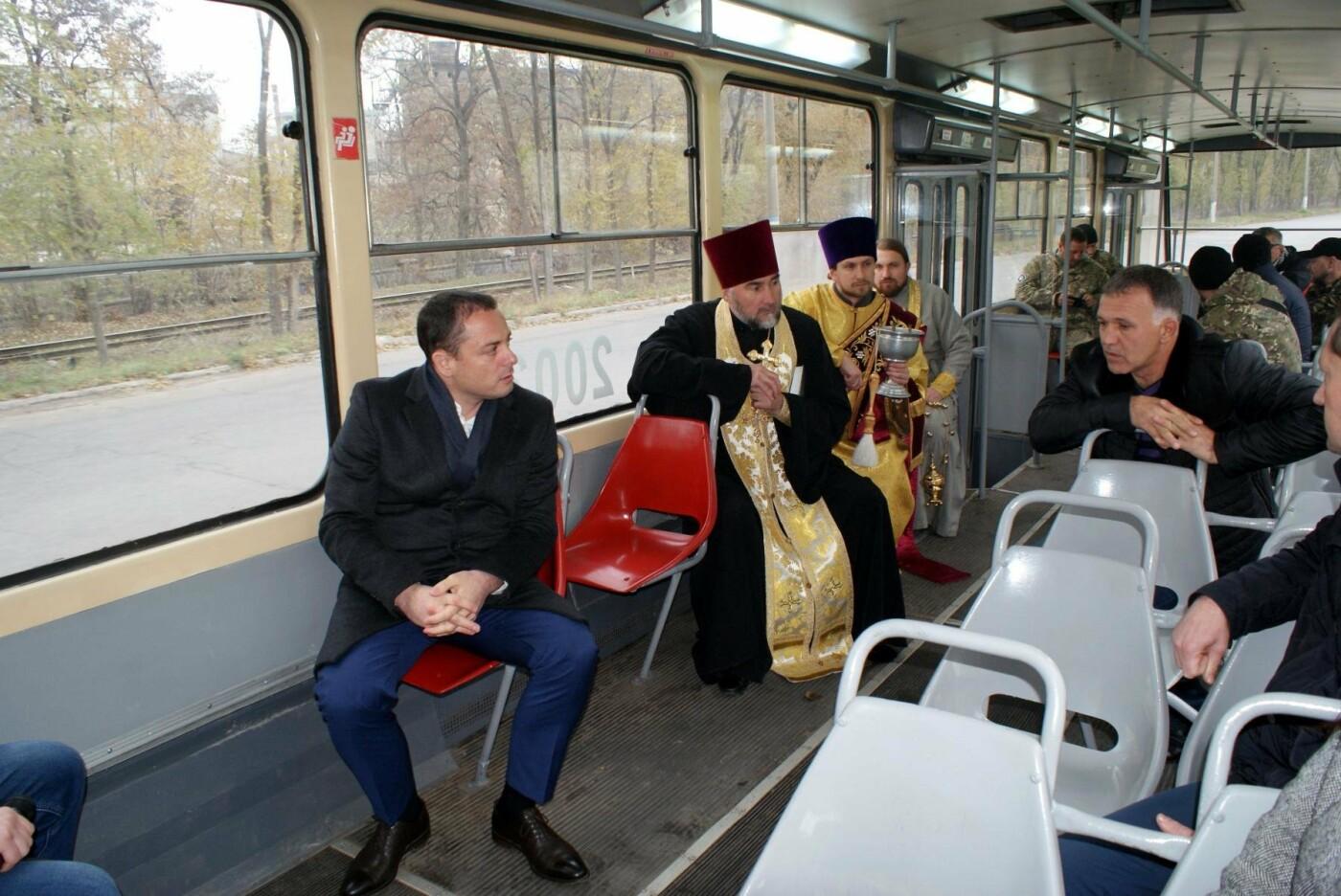 В Каменском появился патриотический трамвай, фото-2