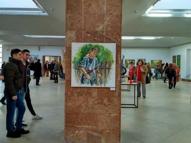 Каменская художница представила свои работы на международной выставке, фото-2