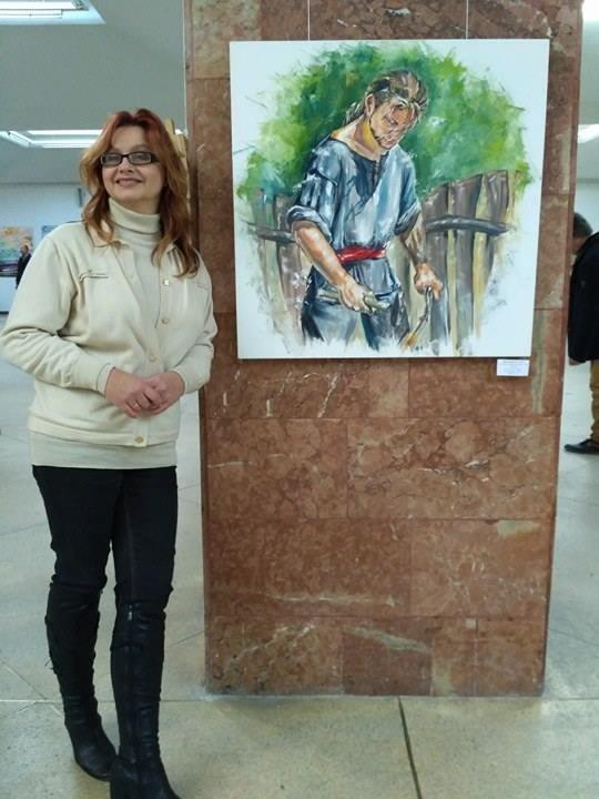 Каменская художница представила свои работы на международной выставке, фото-1
