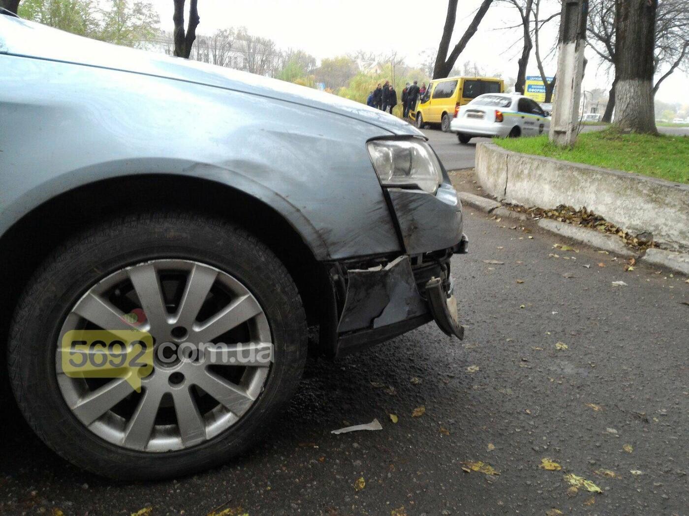 ДТП в Каменском: Ford Transit врезался в дерево, фото-1