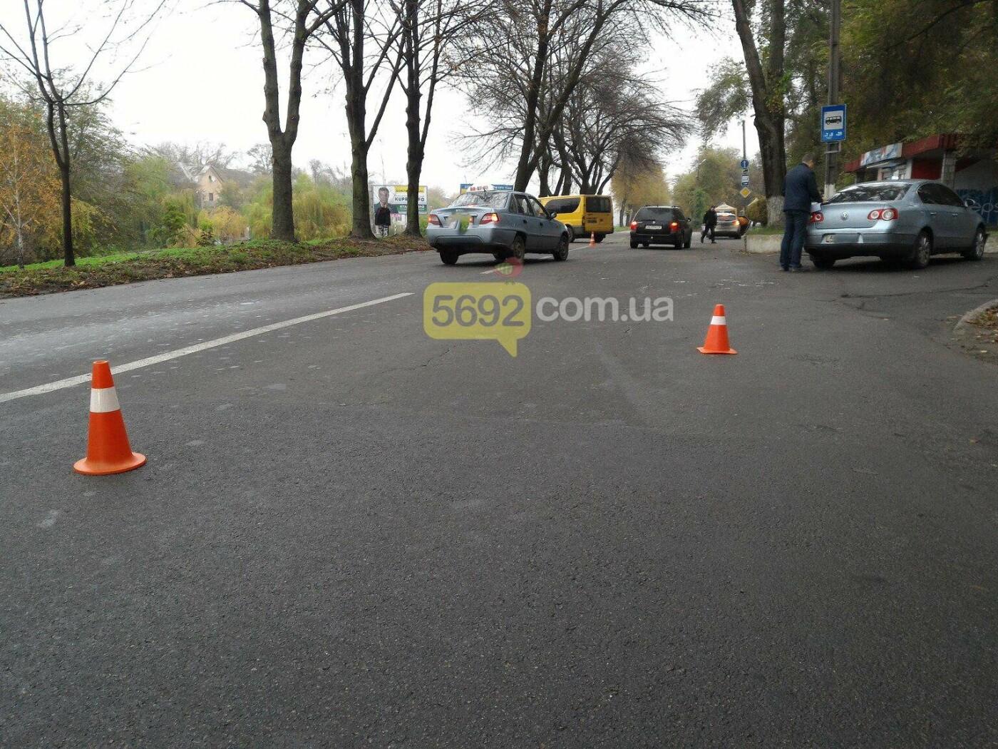 ДТП в Каменском: Ford Transit врезался в дерево, фото-4