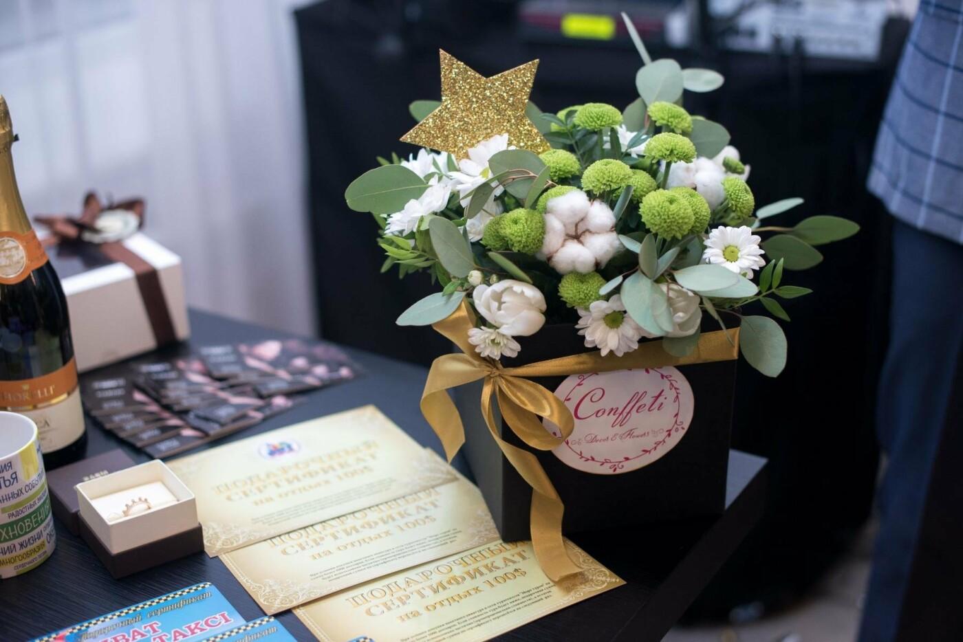 """Свадебный салон """"Белая орхидея"""" провел розыгрыш золотого украшения, фото-6"""