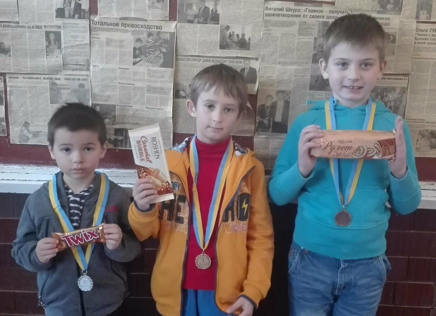 Маленькие каменчане соревновались за звание чемпиона города по шашкам, фото-4