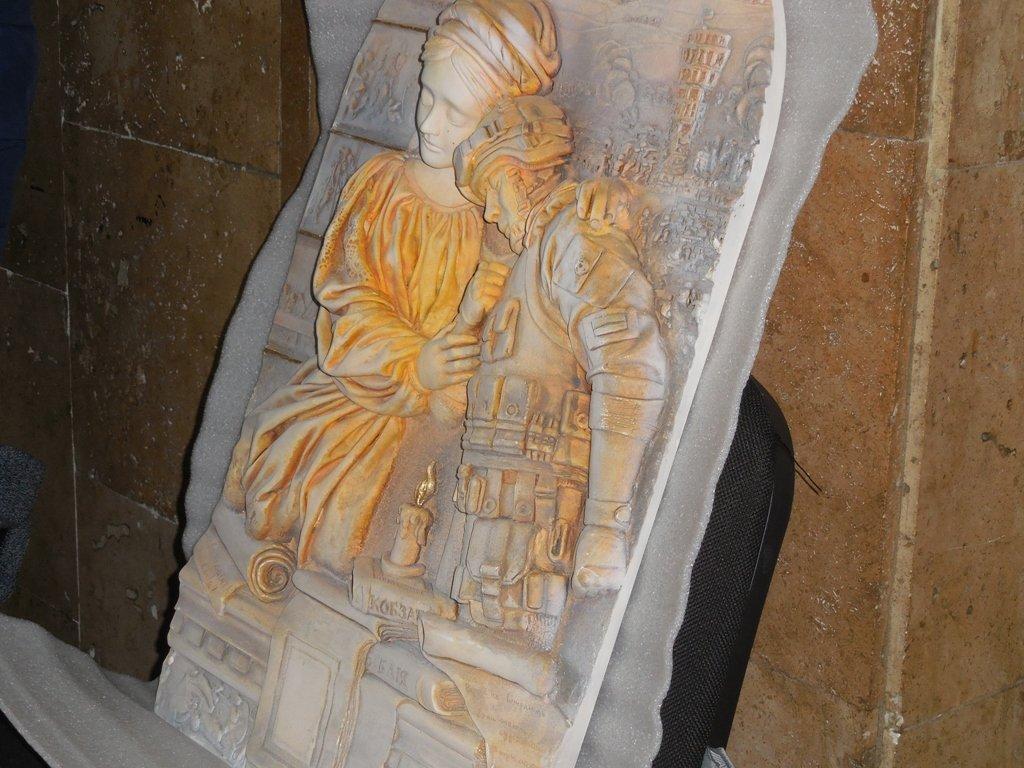 Семьям погибших в АТО каменчан вручили барельеф «Икона памяти», фото-2