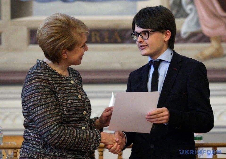 Школьник из Каменского стал стипендиатом Президента Украины, фото-2